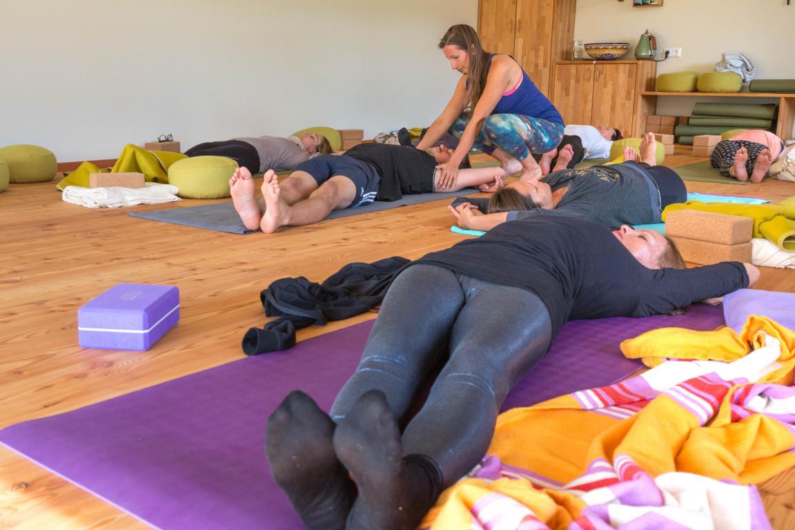 Yoga im Weingarten 2015