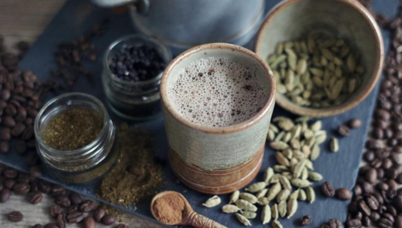 Gewürzmilch mit oder ohne Kaffee ;)